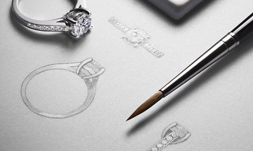 Photo Of Custom Designed Engagement Rings In Columbus, Ohio - Meyers Jewelers