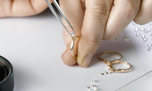 Photo Of Diamond Remounting From Columbus, Ohio Jewelry Repair Shop - Meyers Jewelers