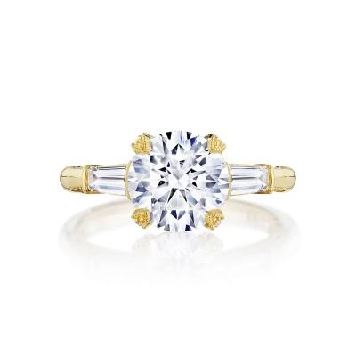 Tacori HT2657RD85Y 18 Karat RoyalT Engagement Ring