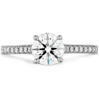 Illustrious Engagement Ring-Diamond Intensive Band
