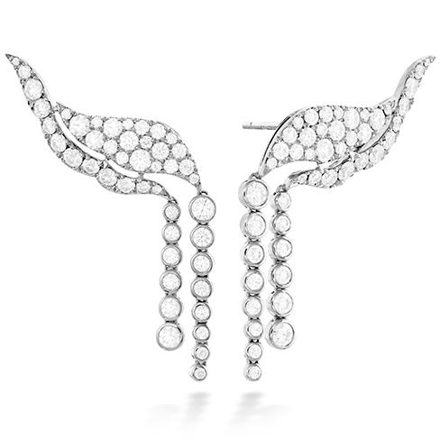 Lorelei Fringe Diamond Ear Cuff