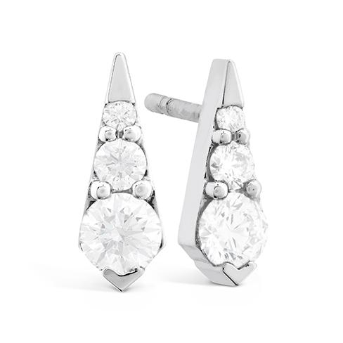 Triplicity Drop Stud Earrings