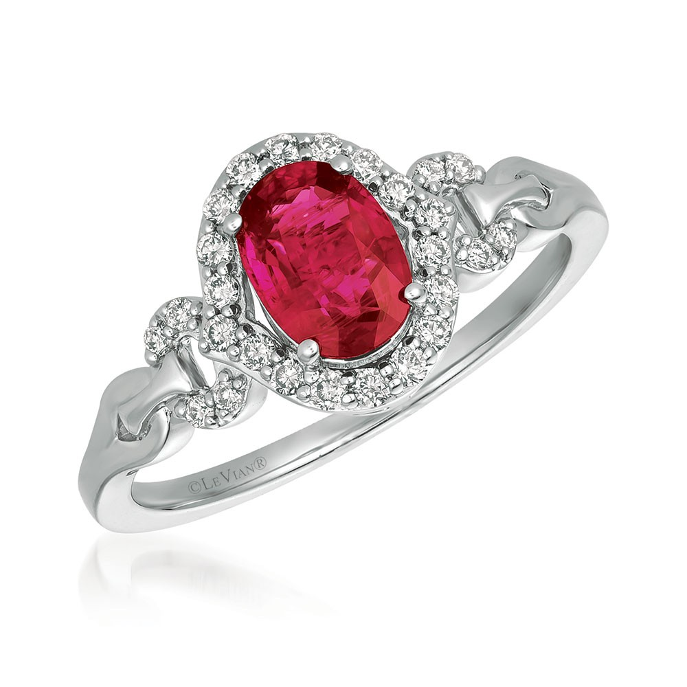 Le Vian 14K Vanilla Gold® Passion Ruby Ring YQXM 36