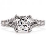 Wondrous Dream Split Shank Engagement Ring