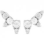 Aerial Diamond Ear Vine Earrings