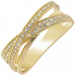 Dabakarov Diamond Fashion ring in 14kt Yellow Gold (1/5ct tw)