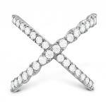 Lorelei Diamond Criss Cross Ring