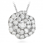 Lorelei Diamond Floral Pendant