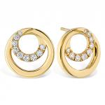 Optima Circle Earrings