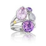 Precious Cluster Ring featuring Assorted Gemstones sr143130126
