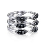 Triple Stacked Surfboard Ring sr19944
