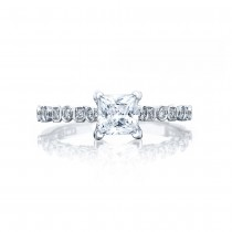 Tacori 201-2PR5 Platinum Sculpted Crescent Engagement Ring