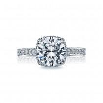 Tacori Platinum Dantela Engagement Ring 2620RDLGP