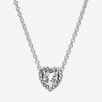 Elevated Heart Necklace