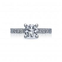 Tacori Crescent Platinum Engagement Ring 41-25RD65