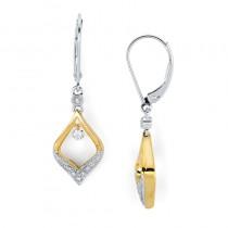 Shimmering Diamonds® Dangling Tear Drop Earrings SD13E06