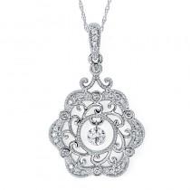 Shimmering Diamonds® Rose Pendant SD13P15