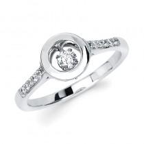 Shimmering Diamonds® Circle Ring SD14F85