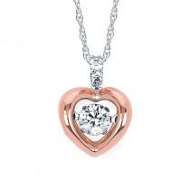 Shimmering Diamonds® Heart Pendant SD14P57