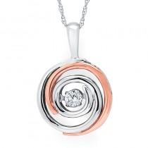 Shimmering Diamonds® Ripple Pendant SD15P25