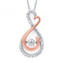 Shimmering Diamonds® Infinity Heart Pendant SD15P26