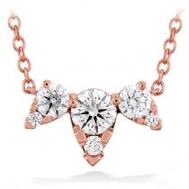 Aerial Triple Diamond Necklace