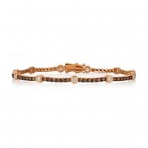 Le Vian 14K Strawberry Gold® Vanilla Diamond Diamond Bracelet DEKI 702