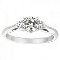 Martin Flyer Our Destiny Our Dreams Engagement Ring DERT02XSQ-F-5.5RD