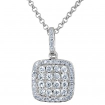 Dabakarov Diamond Necklace in 14kt White Gold (1/4ct tw)
