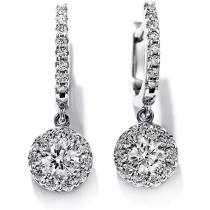 Fulfillment Diamond Drop Earrings