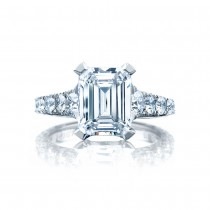 Tacori HT2623EC10X8 Platinum RoyalT Engagement Ring