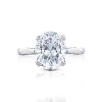 HT2625OV11X9 Platinum Tacori RoyalT Engagement Ring