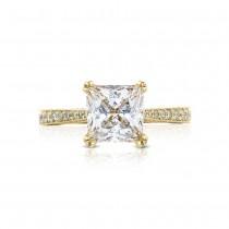 Tacori HT2626PR75Y 18 Karat RoyalT Engagement Ring