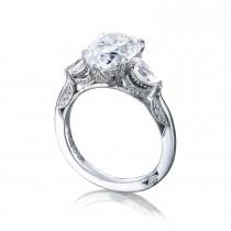 HT2628PS14X9 Platinum Tacori RoyalT Engagement Ring