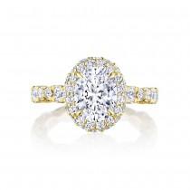 Tacori HT2653OV9X7Y 18 Karat RoyalT Engagement Ring