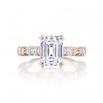 Tacori HT2654EC9X7PK 18 Karat RoyalT Engagement Ring