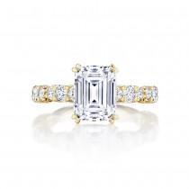 Tacori HT2654EC9X7Y 18 Karat RoyalT Engagement Ring