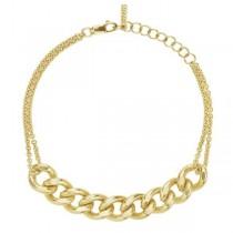 The Curb Chain Bracelet