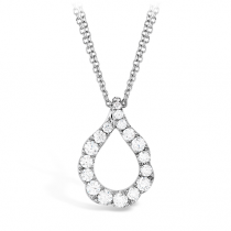 Lorelei Crescent Diamond Pendant