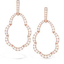 Lorelei Open Drop Diamond Earrings