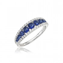 Walk This Way Sapphire and Diamond Ring