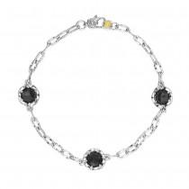 Triple Gem Bracelet featuring Black Onyx
