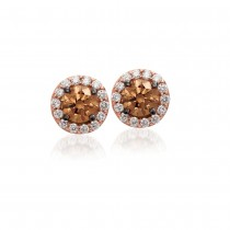 Le Vian 14K Strawberry Gold® Chocolate Diamond Earring WJBO 5