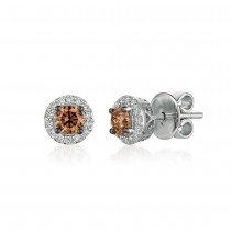 Le Vian 14K Vanilla Gold® Chocolate Diamond Earring WJBO 5WG