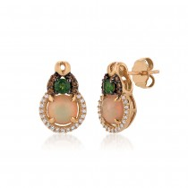 Le Vian 14K Strawberry Gold® Neopolitan Opal Earring YQTI 6