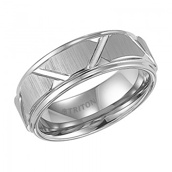 8MM Tungsten Carbide Ring 11-4126HC-G.00