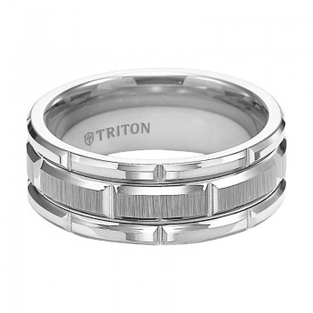 8MM Tungsten Carbide Ring 11-4127HC-G.00