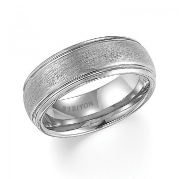 8MM Tungsten Carbide Ring 11-4129HC-G.00