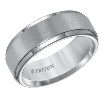 8MM Tungsten Carbide Ring 11-5576C8-G.00