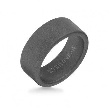 9MM Tungsten Raw Ring